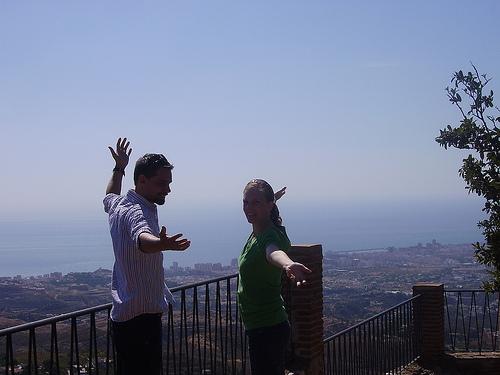 Celebrating in Spain