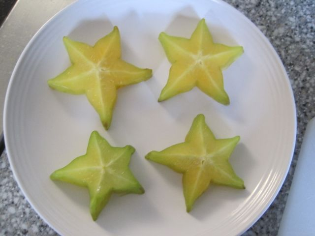 Star Fruit Cut Up