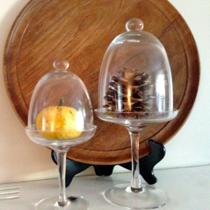 Fall Mantel - Cloches