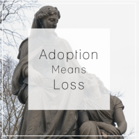 Adoption Means Loss