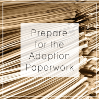 Preparing for Adoption - The Paperwork